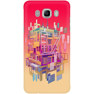 Dreambolic Building Clouds Prints Mobile Back Cover