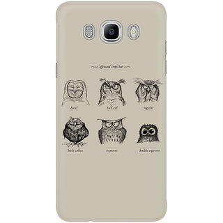 Dreambolic Caffeinated Owls Mobile Back Cover