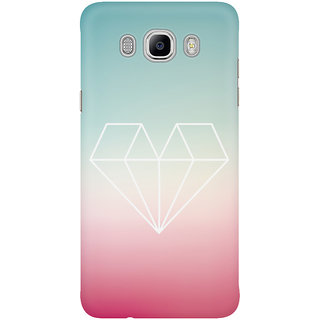 Dreambolic Diamond Heart Mobile Back Cover