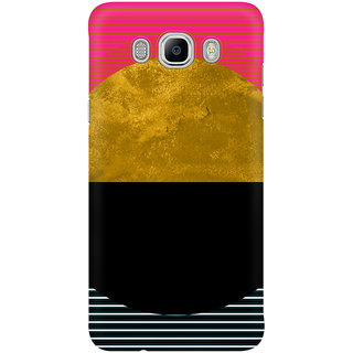 Dreambolic Abstract Sunset Mobile Back Cover