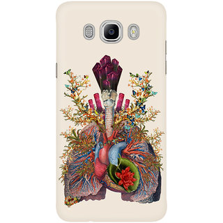 Dreambolic Adore Anatomical Heart Lungs Collage Mobile Back Cover