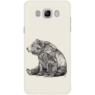 Dreambolic Bear Graphite Mobile Back Cover