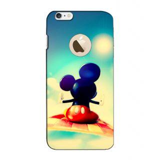 Instyler Digital Printed 3D Back Cover For Apple I Phone 6S Logo