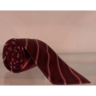 Peter England Maroon Colored Men's Formal Tie (Option 2)