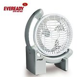 EVEREADY RECHARGEABLE FAN+LED TORCH+150MM SWEEP+90.+AUTO ON when lights off