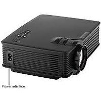 MINI Projector GP-9 BLACK COLOR 800 Lumens HD Home Theater