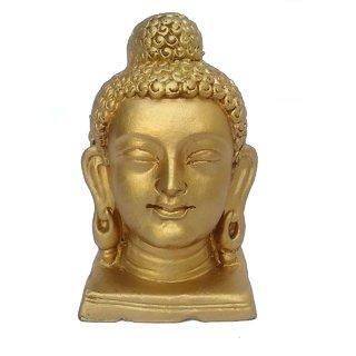 Buddha Face Idol(Golden Colour)