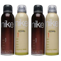 Nike Deodorants 2 Urban Musk For Men And 2 Urban Musk For Women 200ml Each (Pack Of 4)