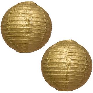 Skycandle Gold Paper Lantern Pack Of 2