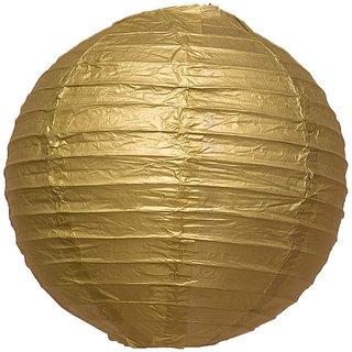 Skycandle Gold Paper Lantern