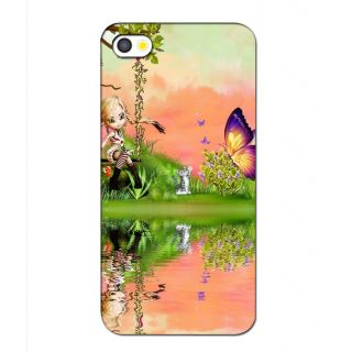 Instyler Premium Digital Printed 3D Back Cover For Apple I Phone 4 3Dip4Tmc-11533