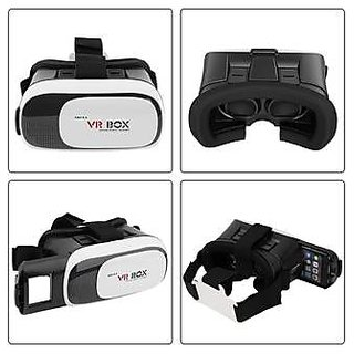 VR Headset Virtual Reality 3D Glasses Google Cardboard VR Box With Mini Gamepad