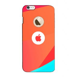Instyler Digital Printed 3D Back Cover For Apple I Phone 6S Logo 3Dip6SlogoTmc-11122