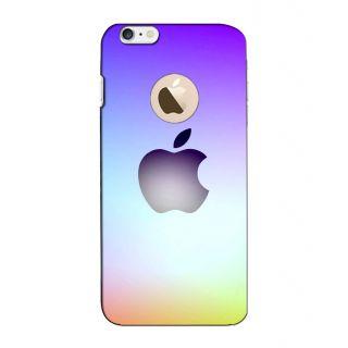 Instyler Digital Printed 3D Back Cover For Apple I Phone 6S Logo 3Dip6SlogoTmc-11126