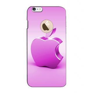 Instyler Digital Printed 3D Back Cover For Apple I Phone 6S Logo 3Dip6SlogoTmc-11135