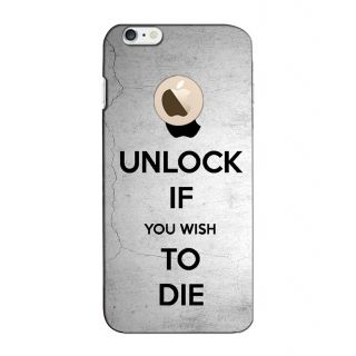 Instyler Digital Printed 3D Back Cover For Apple I Phone 6S Logo 3Dip6SlogoTmc-11930