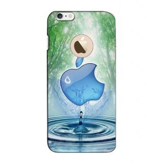 Instyler Digital Printed 3D Back Cover For Apple I Phone 6S Logo 3Dip6SlogoTmc-11230
