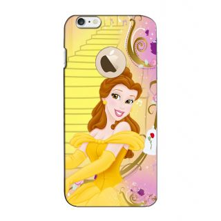 Instyler Digital Printed 3D Back Cover For Apple I Phone 6S Logo 3Dip6SlogoTmc-11607
