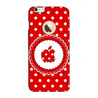 Instyler Digital Printed 3D Back Cover For Apple I Phone 6S Logo 3Dip6SlogoTmc-11082
