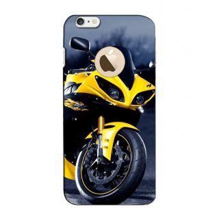 Instyler Digital Printed 3D Back Cover For Apple I Phone 6S Logo 3Dip6SlogoTmc-12055