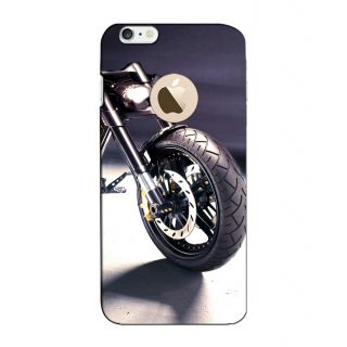 Instyler Digital Printed 3D Back Cover For Apple I Phone 6S Logo 3Dip6SlogoTmc-12065