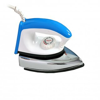 Home line Electric Dry Iron Light Weight Blue