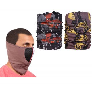 Sushito Bike Racing Fancy Face Mask  Freebie Bandana JSMFHFM0729-JSMFHMA0841-JSMFHMA0687