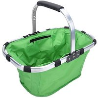 Folding Portable Shopping Picnic Basket Storage Bag With Foil Cover( Multicolor)