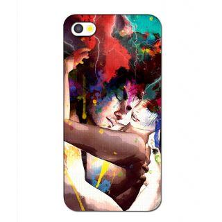Instyler Premium Digital Printed 3D Back Cover For Apple I Phone 4 3Dip4Tmc-12100