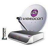 Videocon D2H Standard Defination Connection With 1 Month Super Gold Pack