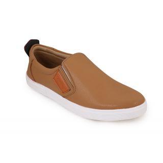 Quarks MenS Beige Loafers
