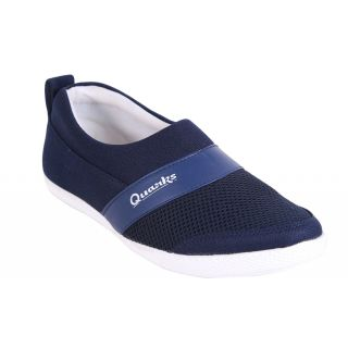 Quarks MenS Navy Blue Loafers