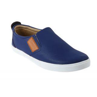 Quarks MenS Blue Loafers