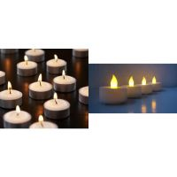 Combo Set Of 60 Pcs LED Tealight(T-Light) Battery Operated/ Wax T-light