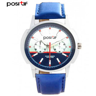 Positif Analog Round Casual Watches For Men Posotif-002