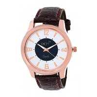DCH In-03 Rose Gold Case Analog Watch For Men's