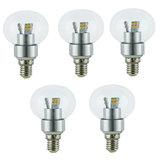 Combo Pack Of 3W LED Clear Bulb - 5 Qty