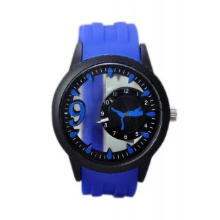 Puma Watch {Glass Blue}