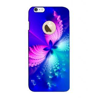 Instyler Digital Printed 3D Back Cover For Apple I Phone 6 Logo 3DIP6LOGOTMC-11488