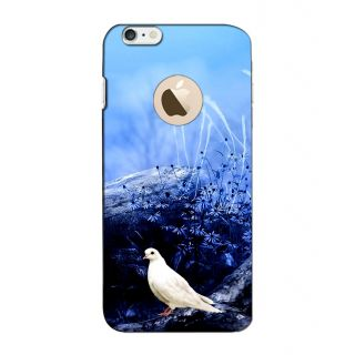 Instyler Digital Printed 3D Back Cover For Apple I Phone 6 Logo 3DIP6LOGOTMC-11725