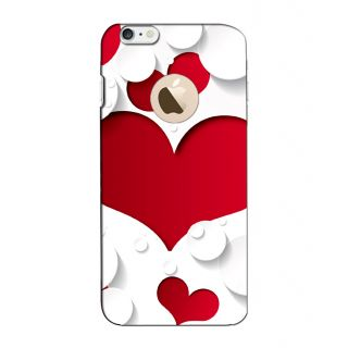 Instyler Digital Printed 3D Back Cover For Apple I Phone 6 Logo 3DIP6LOGOTMC-11364