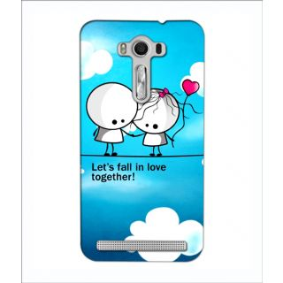 Instyler Digital Printed 3D Back Cover For Asus Zen Fone 2 Lazer Ze 550 Kl 3DASUSZE550KLTMC-11301