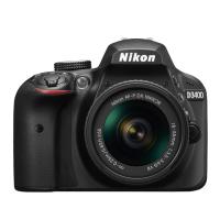 Nikon D3400 DSLR Camera With AF-S 18-55mm ASP VR II Lens (Black)