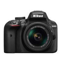 Nikon D3400 DSLR Camera with AF-P 18-55mm ASP VR II Lens (Black)