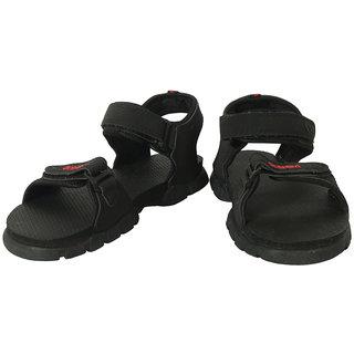 Action Shoes Men'S Black Slipper