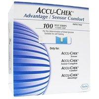 Accu-Chek Advantage/Sensor Comfort Diabetic Strips (100 Strips)