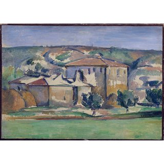 The Museum Outlet - House in Provence, 1885 - Poster Print Online Buy (24 X 32 Inch)