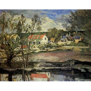 The Museum Outlet - In the Valley of the Oise, 1873-74 - Poster Print Online Buy (24 X 32 Inch)