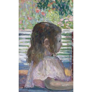 The Museum Outlet - Helene Lebasque (aka Nono), 1905 (reproduction from Sothebys) - Poster Print Online Buy (24 X 32 Inch)
