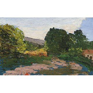 The Museum Outlet - Midday Landscape, 1865 - Poster Print Online Buy (24 X 32 Inch)